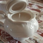 Sugar Bowl or Tea Cup Candle