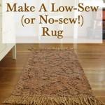 homemade rug