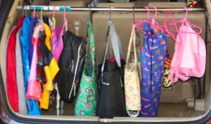 mini van trunk organization