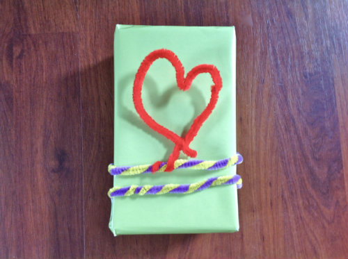 pipe cleaner ribbon