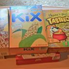 Cereal Box Building Blocks