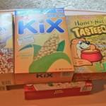 Cereal Box Building Blocks