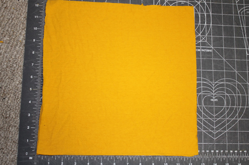 Upcycled T-Shirt Napkins 3 | The Happy Housewife