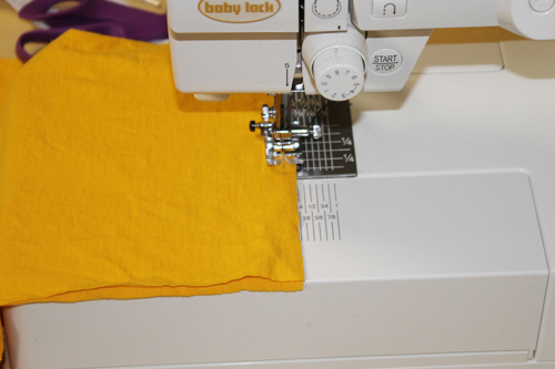 Upcycled T-Shirt Napkins 4 | The Happy Housewife