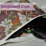 DIY Sunglasses Case   The Happy Housewife
