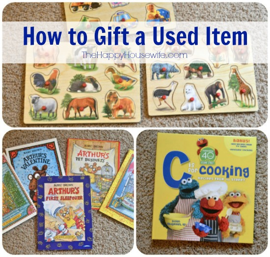 How to Gift a Used Item | The Happy Housewife