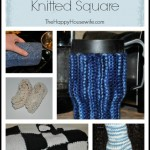 Homemade Gifts from a Knitted Square   The Happy Housewife
