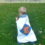 How to Make an Easy Superhero Cape   The Happy Housewife