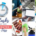8 tasks that take less than 5 minutes