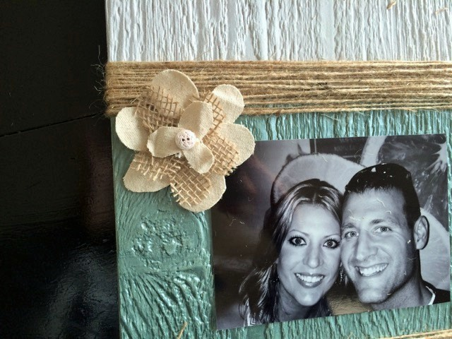 DIY Picture Decor Step 5 at The Happy Housewife