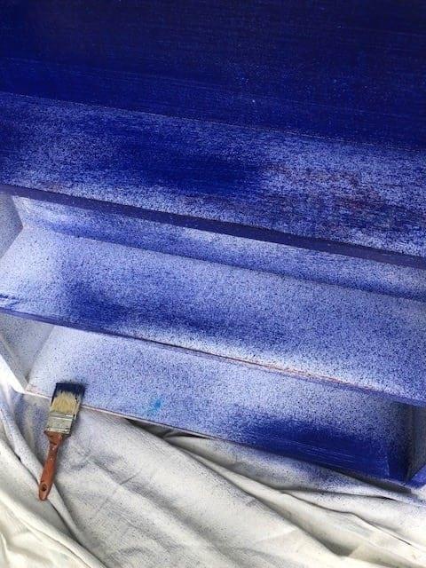 Valspar Chalk paint blue