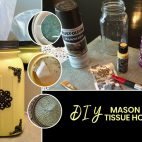 mason jar craft tissue holder