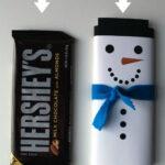 Snowmen Candy Bars