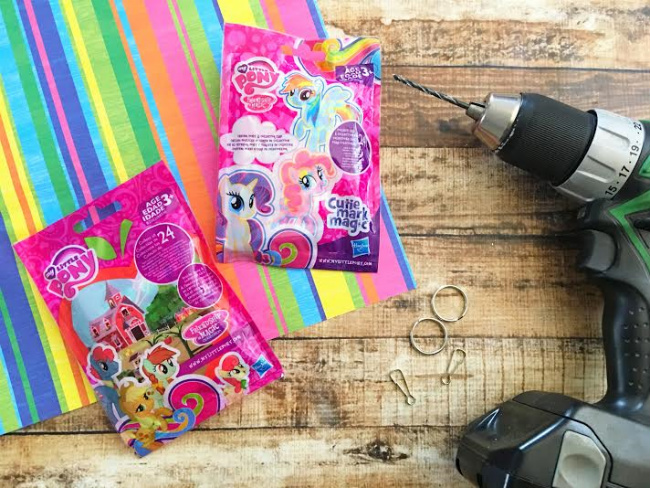 My Little Pony Keychain Supplies