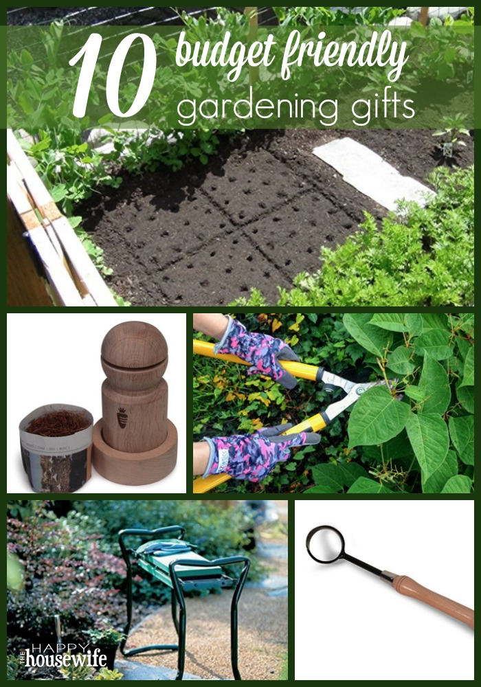 top 10 budget friendly gardening gifts