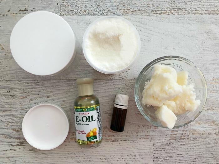 DIY Vanilla Body Butter using 4 ingredients