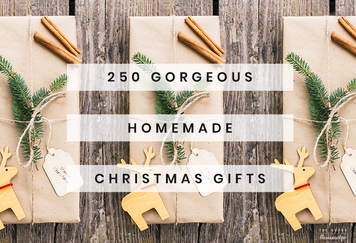 Homemade Christmas Gifts DIY Projects that are beautiful and easy to make