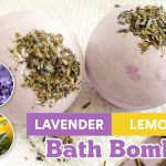 Lavender Lemon DIY Bath Bomb