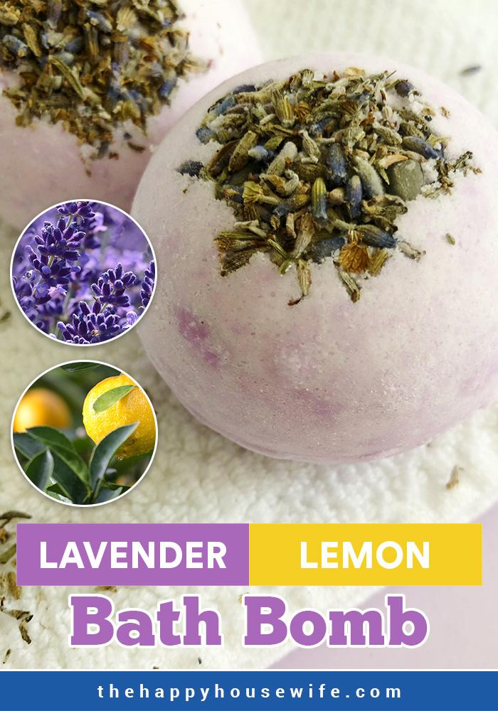 DIY Lavender Lemon Bath Bomb Better than LUSH