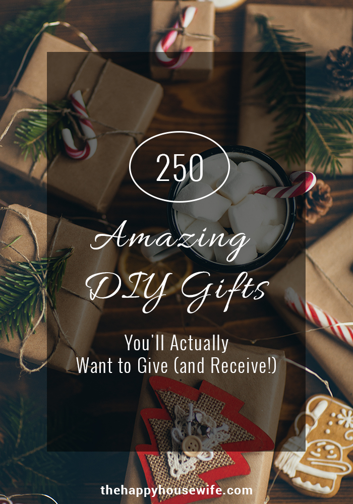 Homemade Chrsitmas Gifts on a budget. DIY gifts you''ll be proud to give