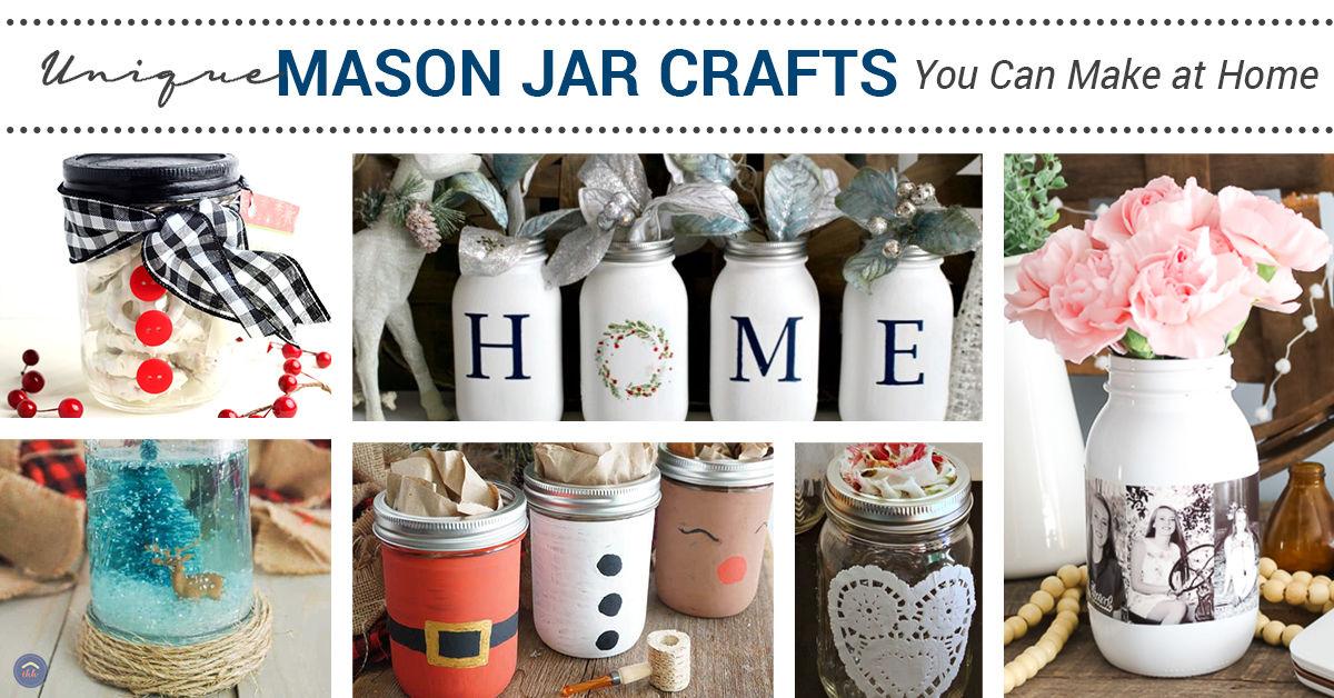ideas for mason jar crafts