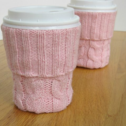 Upcycled Cup Sleeve