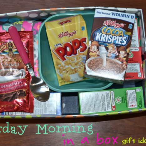 Saturday Morning in a Box