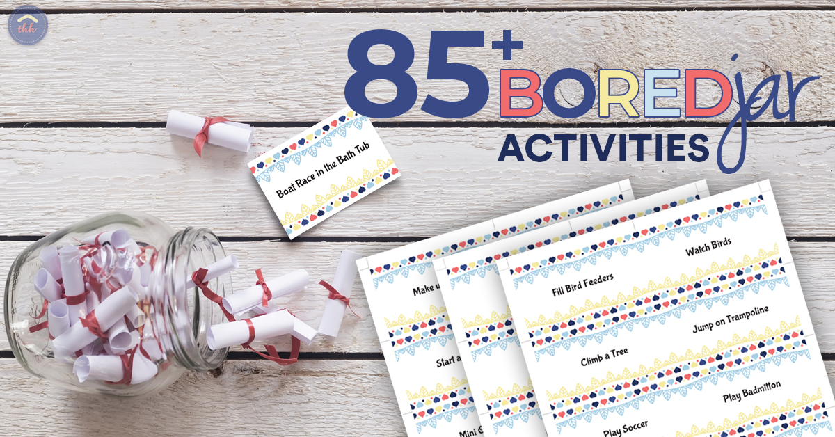I M Bored Activity Cards The Happy Housewife Home Schooling