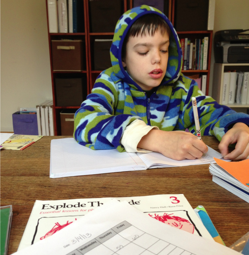 how to create a homeschool schedule