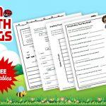 Bug unit study and printable worksheets