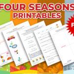 Four seasons printable worksheets