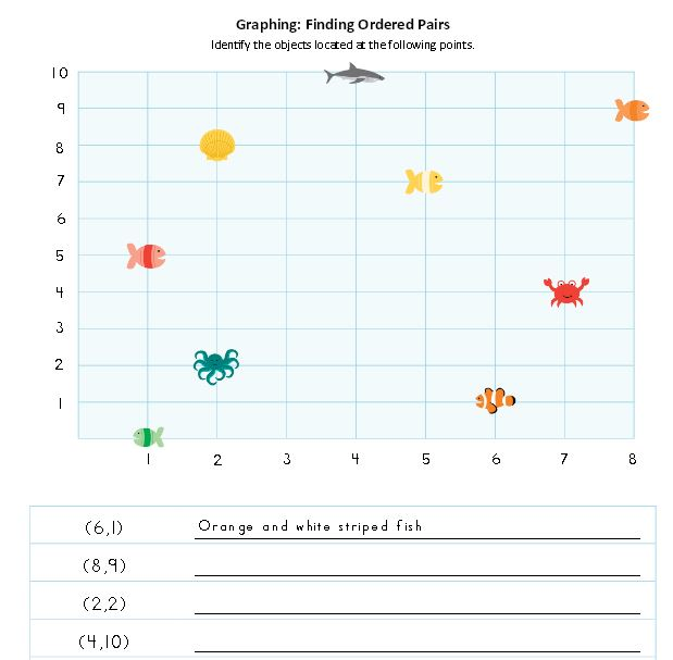 Math Worksheets: Fish Themed Free Printables | The Happy Housewife