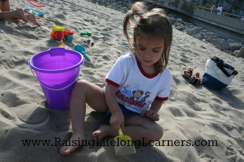 Preschool Beach Fun at Home