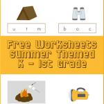 Free Summer Worksheets