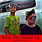 Pirate Fun Round Up | The Happy Housewife