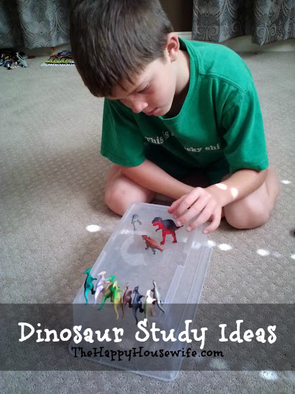 Dinosaur Study Ideas | The Happy Housewife