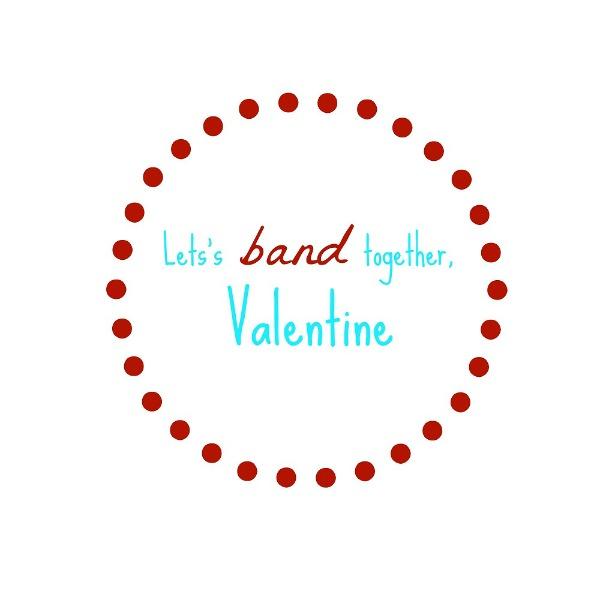 Rubber Band Bracelets Valentine Printable | The Happy Housewife