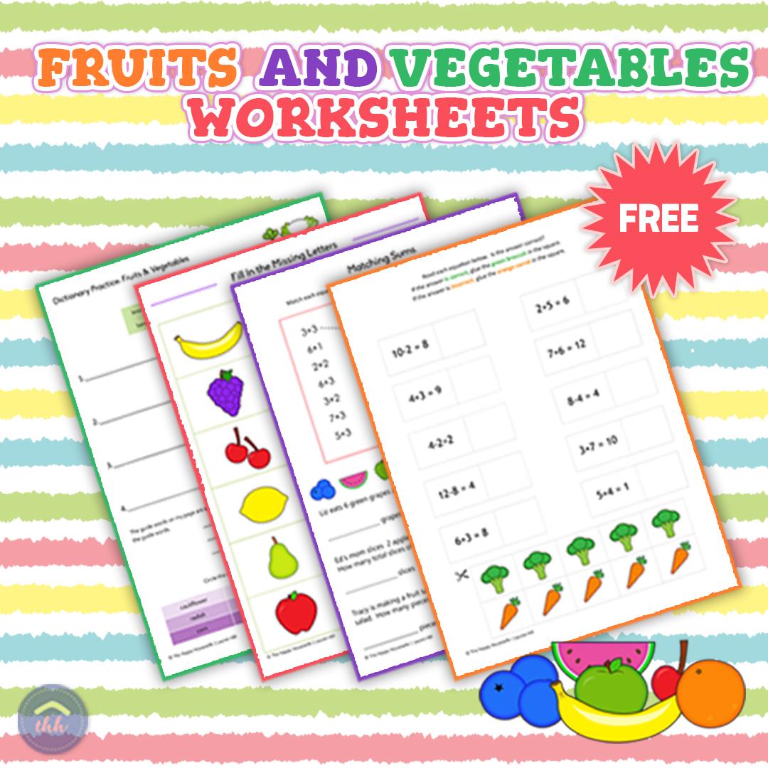 Vegetable Reading Worksheet