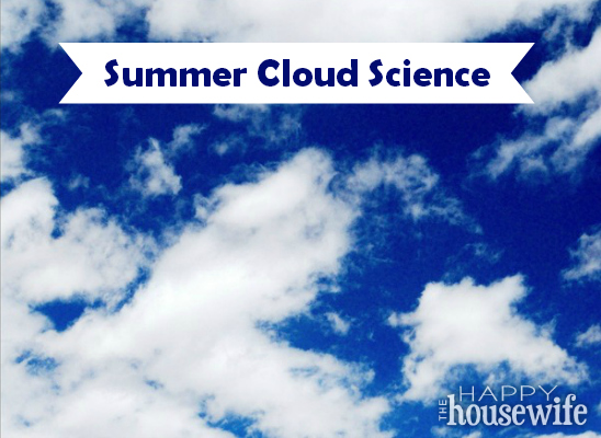 When hot and humid air makes the weather unstable in July and August, it's the perfect time to study how clouds make rain with your kids.