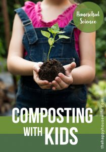 composting science experiments with kids