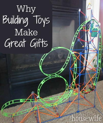 Why Building Toys Make Great Gifts at The Happy Housewife