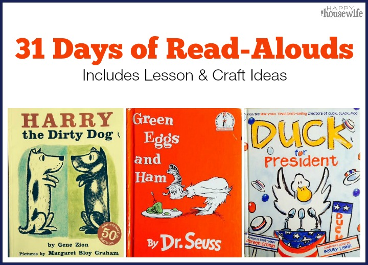 31 Days of Read Alouds Square