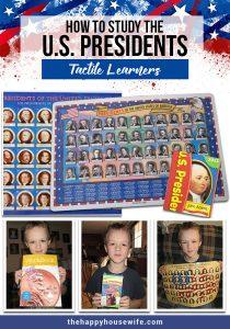 US presidents Unit Study