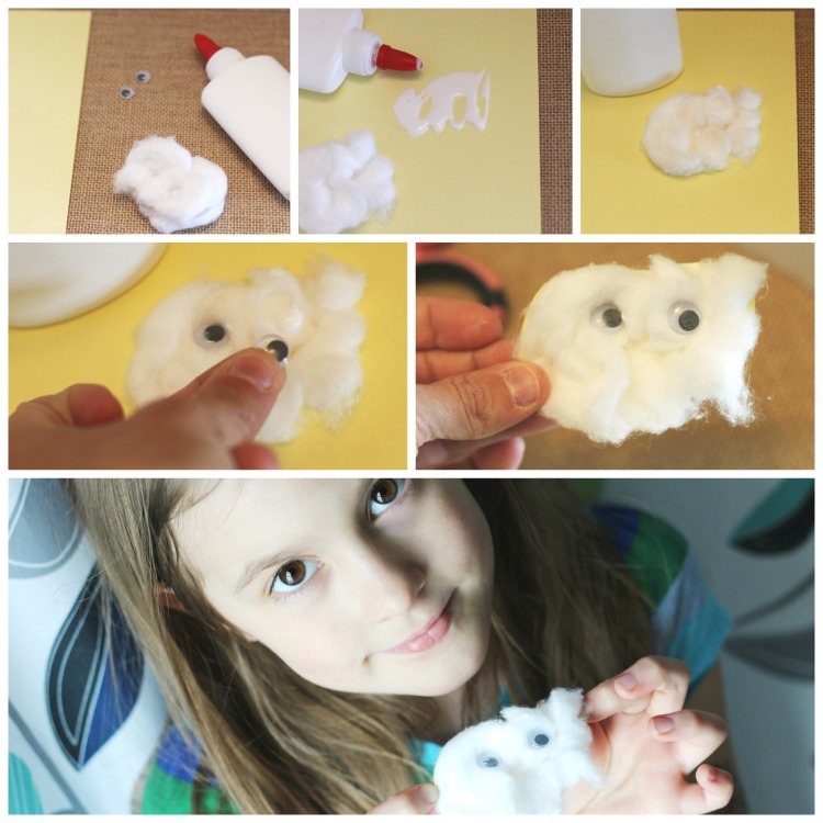 Easy Cloud Science Craft and Activity at The Happy Housewife