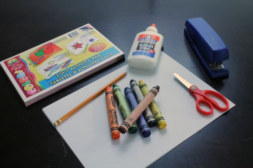 Preschool Prayer Book Supplies at The Happy Housewife