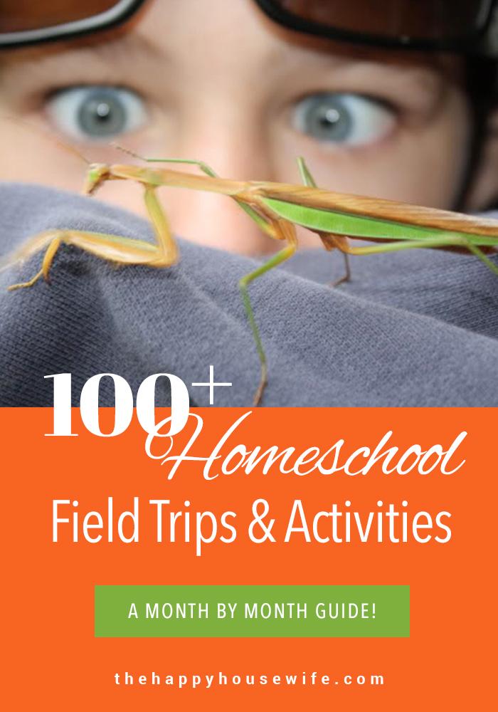 Homeschool Field Trips and activities
