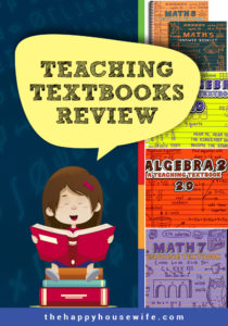 teaching textbook curriculum review by a homeschooling mom