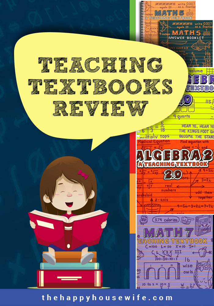 Teaching Textbooks Review - The Happy Housewife™ :: Home Schooling