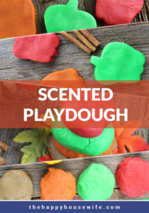 How to make scented playdough