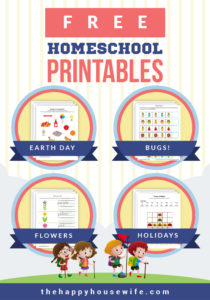 Homeschool Free Printables - The Happy Housewife™ :: Home